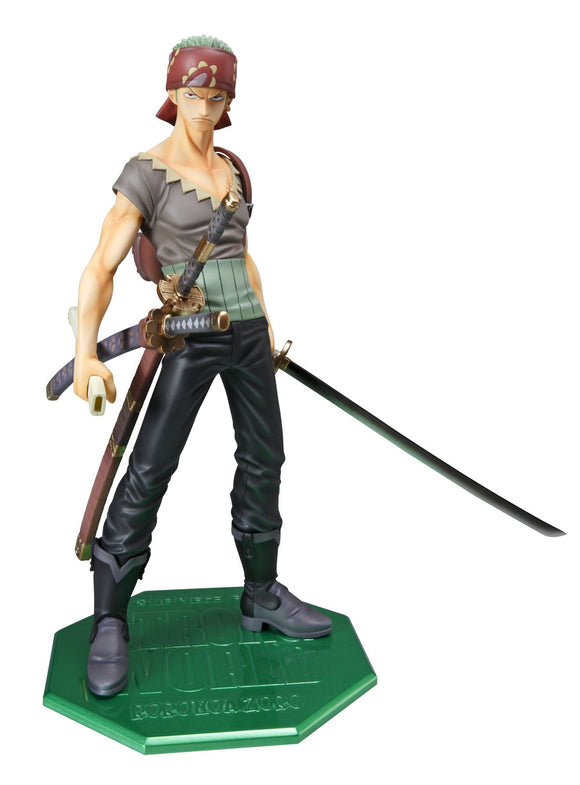 Megahouse Excellent Model One Piece Portrait of Pirates POP Strong World Roronoa Zoro 1/8 PVC Figure