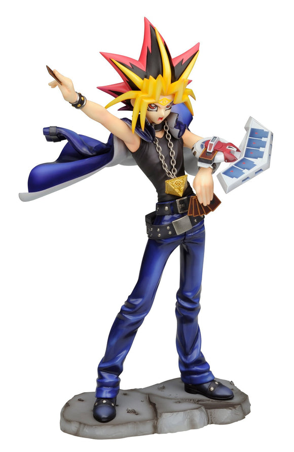 Kotobukiya ArtFX J Yu-Gi-Oh! Duel Monster Yami Yugi Duel With Destiny 1/7 PVC figure-DREAM Playhouse