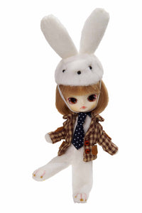 Groove Inc. Little DAL+ F-241 White Rabbit girl Fashion doll (Jun Planning Pullip)-DREAM Playhouse