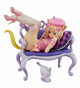 Embrace Japan Planet of the Cats Fluffy Cat & Chair 1/8 PVC figure (Pre-order)-DREAM Playhouse