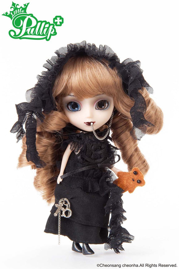 Groove Inc. Little Pullip+ LP-418 NOIR girl Fashion doll (Jun Planning)-DREAM Playhouse