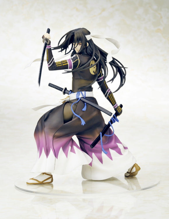 Movic Hakuoki Shinsengumi Kitan Toshizo Hijikata Battle Ver. 1/10 PVC figure-DREAM Playhouse