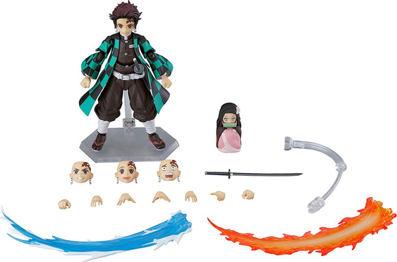 Max Factory figma 498-DX Demon Slayer Kimetsu no Yaiba Tanjiro Kamado DX ver.