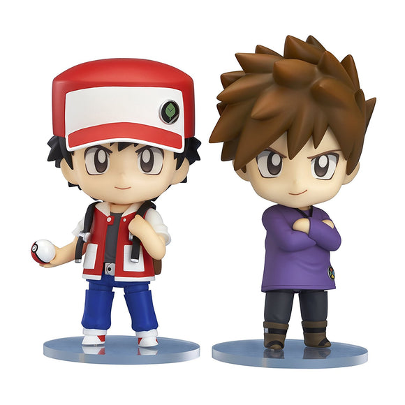 Good Smile Nendoroid 612 Pocket Monster Pokemon Trainer Red & Green