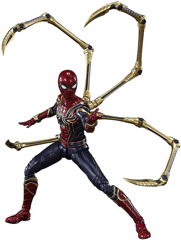 Bandai S.H. Figuarts SHF Marvel Avengers Iron Spider Man Final Battle Edition