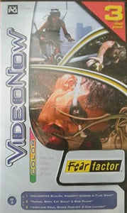 Hasbro Video Now Color PVD disc NBC Fear factor FF3 (3 disc) - DREAM Playhouse