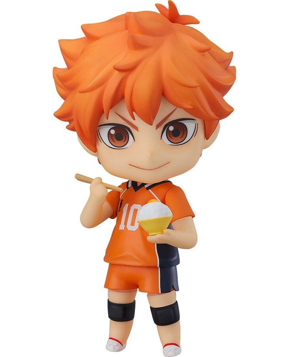 Good Smile Orange Rouge Nendoroid 1411 Haikyu!! Shoyo Hinata New Karasuno Ver.