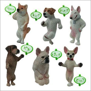 Takara TOMY Yujin Toshio Akuma series tweet of dogs Gashapon figure (set of 6) - DREAM Playhouse