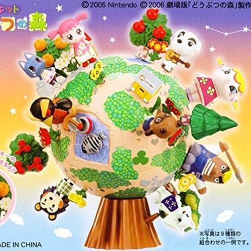 Bandai Animal Crossing New Horizons forest Trading figure BOX