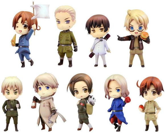 Kotobukiya Hetalia Axis Power One Coin Grande Figure Renewal Package (set of 9)