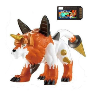 Bandai Digimon Digital Monsters Xros Wars 03 Dorulumon Vinyl Figure (Digi Memory Card Included)