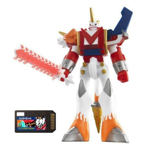 Bandai Digimon Digital Monsters Xros Wars 06 Shoutmon X4 Vinyl Figure (Digi Memory Card Included)