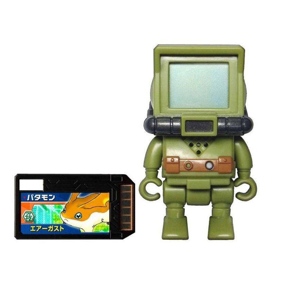 Bandai Digimon Digital Monsters Xros Wars Digi Catch Monitormon Figure (Digi Memory Card Included) - Misc