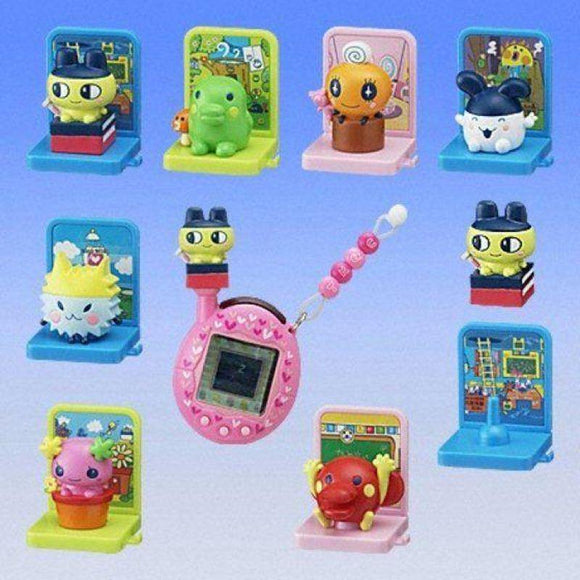 Bandai Tamagotchi Antenna Mascot With House Gashapon Figure (Set Of 7) - Gashapon