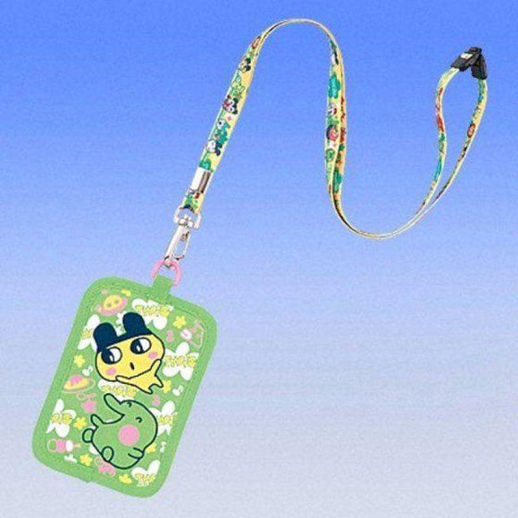 Bandai Tamagotchi Business Card Carrying Case (Green With Mametchi & Kuchipatchi) - Misc
