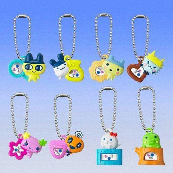 Bandai Tamagotchi Charmy Jewel Swing Gashapon Figure Phone Strap (Set Of 8) - Gashapon