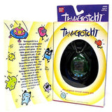 Bandai Tamagotchi Connection 1997 Interactive Lcd Game Original Virtual Reality Pet Clear Blue - Misc
