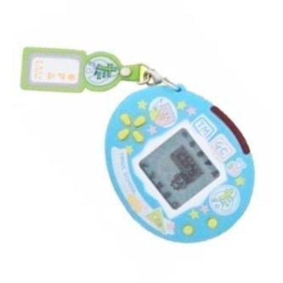 Bandai Tamagotchi Connection School Interactive Lcd Game Team Blue - Misc