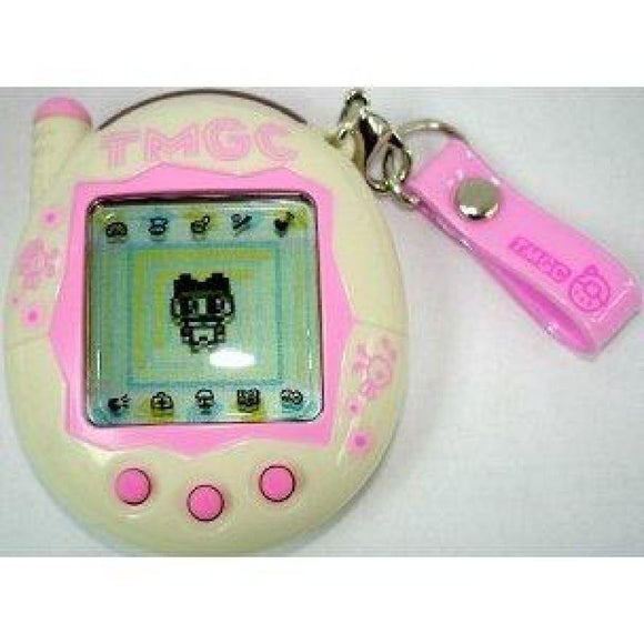 Bandai Tamagotchi Connection Ver. 3 Interactive Lcd Game White & Pink Tmgc - Misc