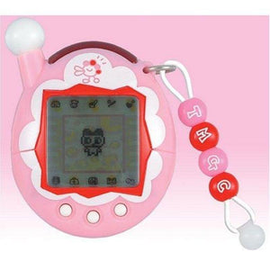 Bandai Tamagotchi Connection Ver. 4 Entama Interactive Lcd Game Toys Frill Pink - Misc