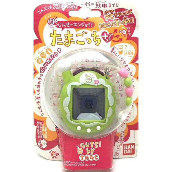Bandai Tamagotchi Connection Ver. 4 Plus Entama Interactive Lcd Game Toys Green Tea (Japan Version) - Misc