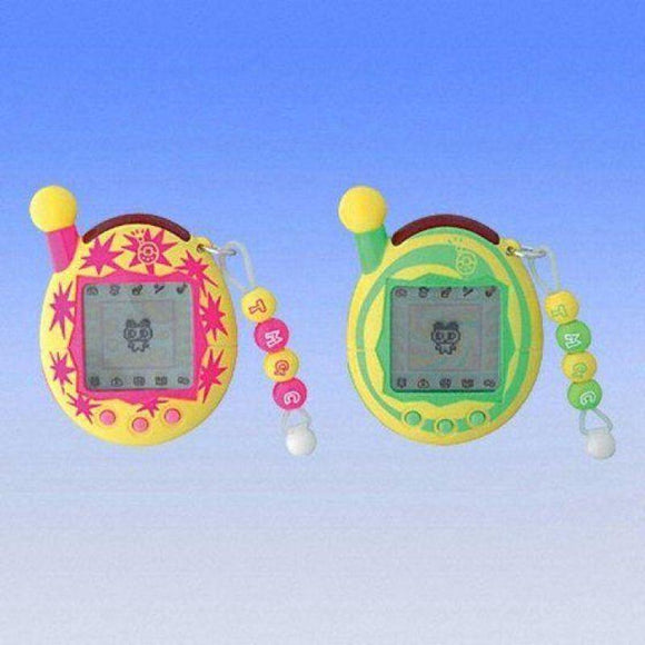 Bandai Tamagotchi Connection Ver. 4 Plus Entama Lcd Game Pika Pink & Guru Green Set (Japan Version) - Misc
