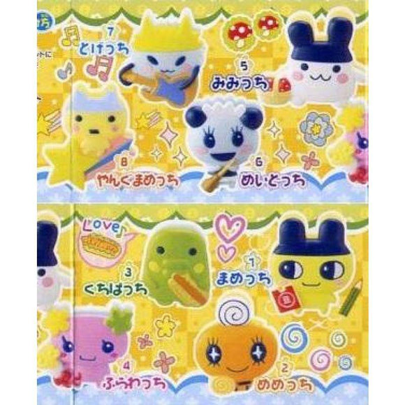 Bandai Tamagotchi Deco Clip Gashapon Figure (Set Of 8) - Gashapon