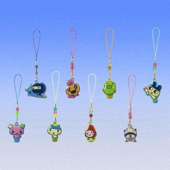 Bandai Tamagotchi Plus Cleaner Gashapon Figure Phone Strap (Set Of 8) - Gashapon