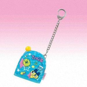 Bandai Tamagotchi Pocket Holder Carrying Case (Blue With Mametchi & Kuchipatchi) - Misc
