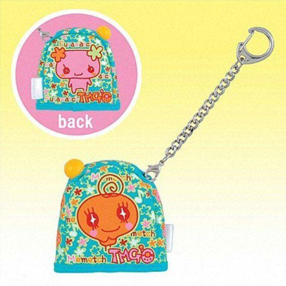 Bandai Tamagotchi Pocket Holder Carrying Case (Blue With Memetchi) - Misc