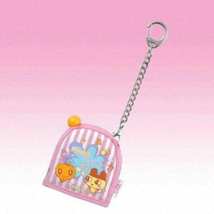 Bandai Tamagotchi Pocket Holder Carrying Case (Pink With Mametchi & Memetchi) - Misc