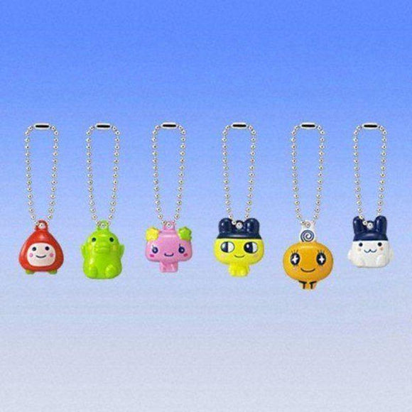 Bandai Tamagotchi Rin Gashapon Belt Figure Phone Strap (Set Of 6) - Gashapon
