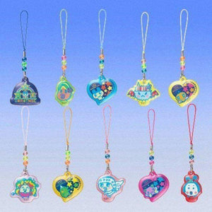 Bandai Tamagotchi Ura Tama Cleaner Gashapon Figure Phone Strap (Set Of 10) - Gashapon