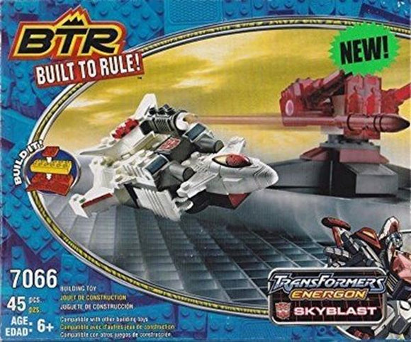 Hasbro Built to Rule! BTR Transformers Energon Skyblast Building Toy