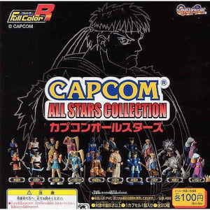Bandai Full Color Capcom All Stars Collection Gashapon figure (set of 10) - DREAM Playhouse