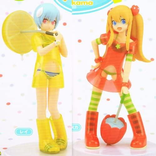 SEGA Neon Genesis Evangelion Fruits punch feat. okama Rei & Asuka Figure set - DREAM Playhouse