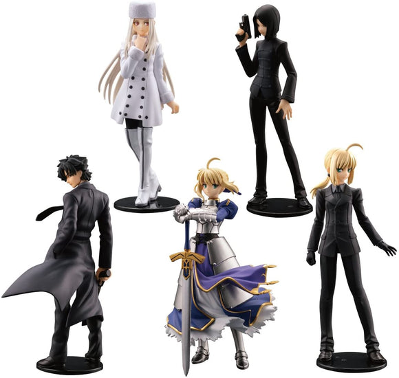 Kaiyodo NEO Capsule Q Fraulein Fate/Zero Gashapon figure (set of 5)