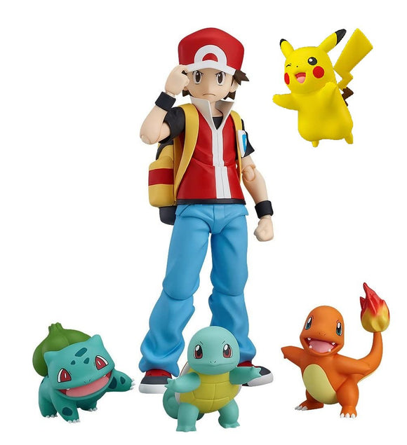 Max Factory figma 356 Pocket Monster Pokemon Red action figure + Pikachu bonus - DREAM Playhouse