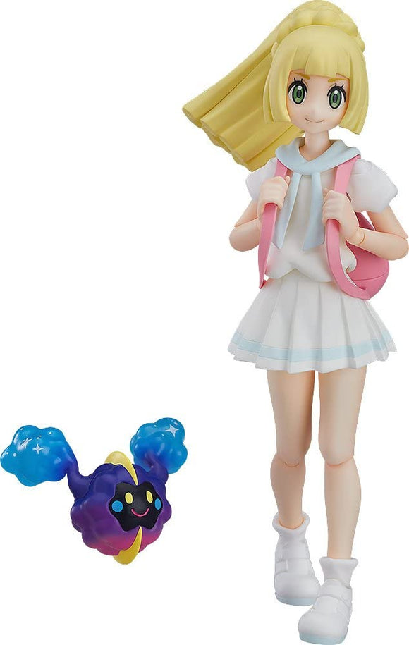 Max Factory figma 392 Pocket Monster Pokemon Lively Lillie action figure