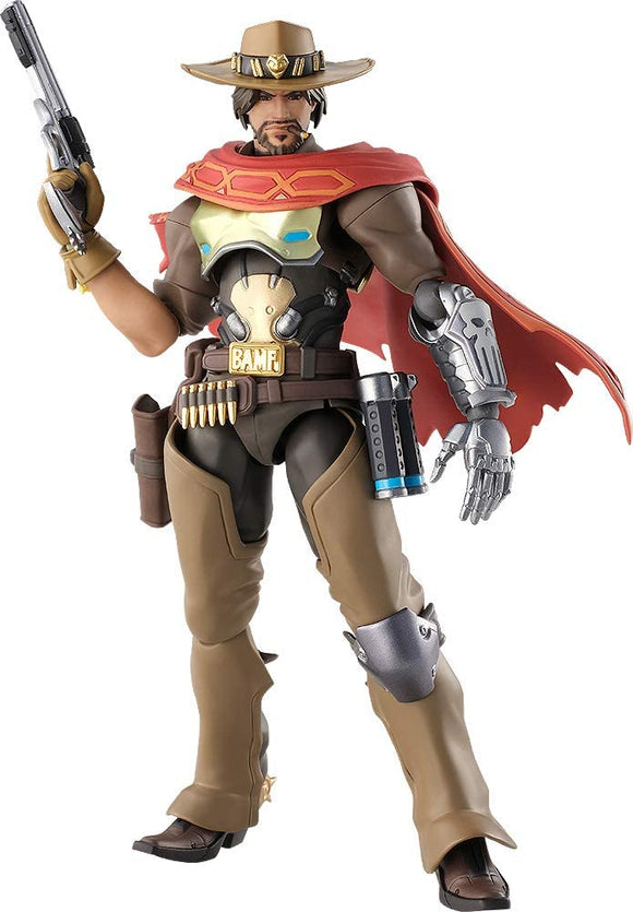 Max Factory figma 438 Overwatch McCree action figure