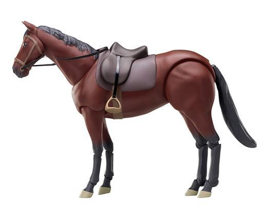 Max Factory Good Smile figma 246a Horse Brown Chestnut ver. MADE IN JAPAN