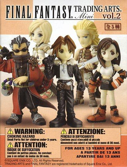 Square Enix Final Fantasy Trading Arts mini figure vol. 2