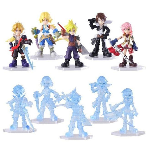 Square Enix DISSIDIA Final Fantasy Opera Omnia Trading Arts (set of 10)