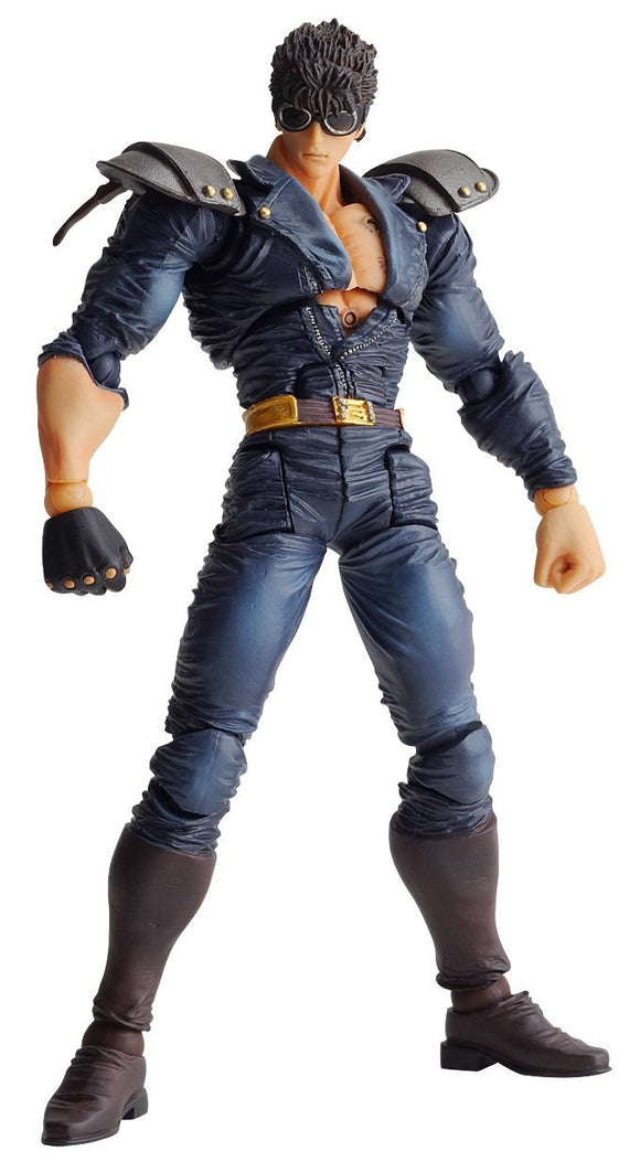 Kaiyodo Revoltech Fist of The North Star Hokuto no Ken Revolution 017 Kenshiro - DREAM Playhouse