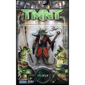 Playmates Tmnt Movie 2007 Teenage Mutant Ninja Turtles Splinter Action Figure - Action