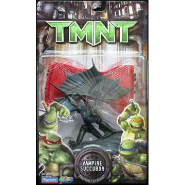 Playmates Tmnt Movie 2007 Teenage Mutant Ninja Turtles Vampire Succubor Monster Action Figure - Action
