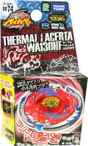Takara Tomy 2010 Beyblade Metal Fight Fusion Bb-74 Thermal Lacerta Wa130Hf Booster Set - Misc