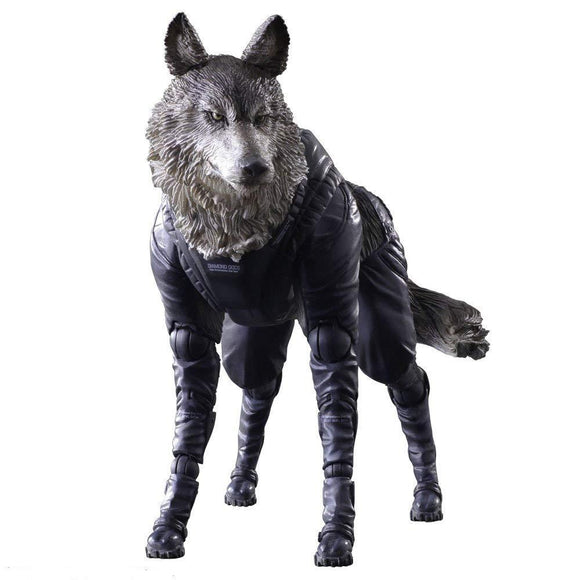 Square Enix Metal Gear Solid V Phantom Pain Play Arts KAI D-DOG Action Figure