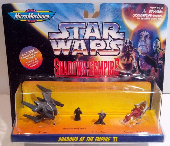 Galoob Micro Machines Star Wars Shadows of the Empire II mini figure set