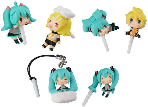 Good Smile Character Vocal Series Vocaloid Earphone Jack Accessories (set of 6)